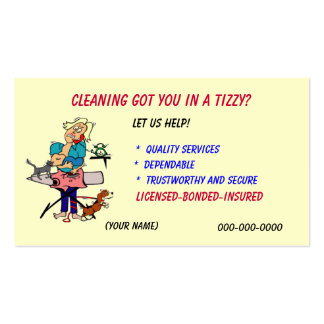Housekeeping Business Card