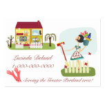 Housekeeping Business Large Business Card