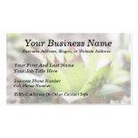 Houseleek - Sempervivum Business Cards