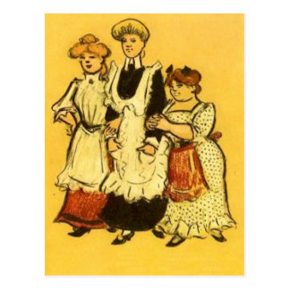 Housemaids - Zille Postcard