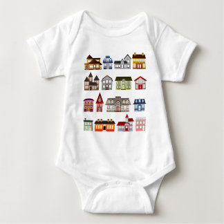houses-157869  houses homes architecture buildings baby bodysuit