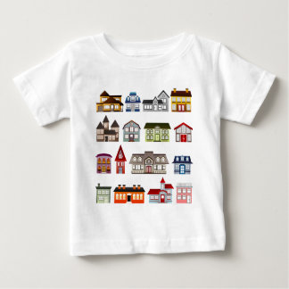 houses-157869  houses homes architecture buildings baby T-Shirt