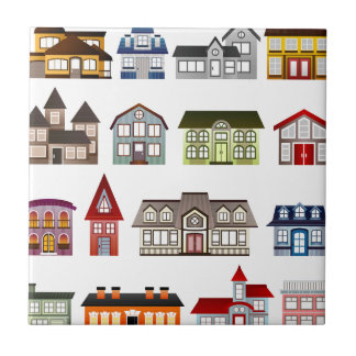 houses-157869  houses homes architecture buildings small square tile