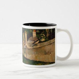Houses Along a Road, c.1881 Two-Tone Coffee Mug