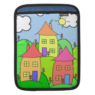 Houses and Hills iPad Sleeve