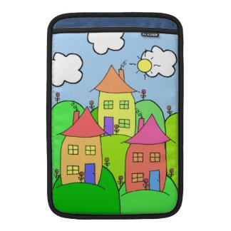 Houses and Hills MacBook Sleeves