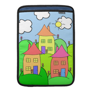 Houses and Hills Sleeve For MacBook Air