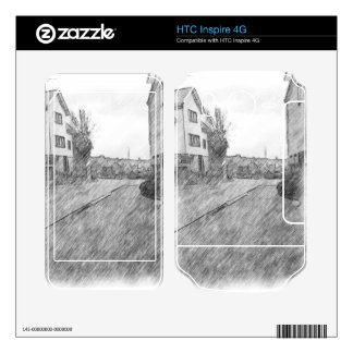 Houses and road skins for HTC inspire 4G