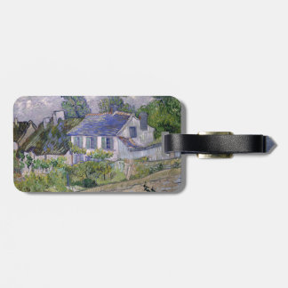 Houses at Auvers by Vincent Van Gogh Luggage Tag