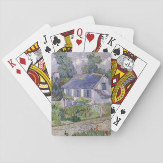 Houses at Auvers by Vincent Van Gogh Card Deck