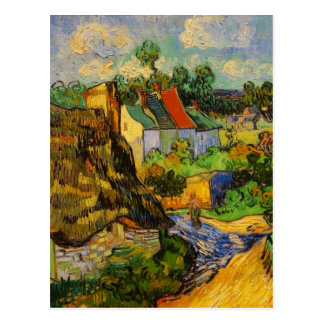 Houses At Auvers Postcard