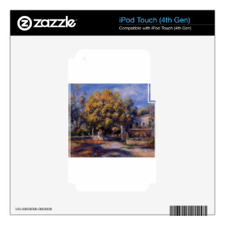 Houses at Cagnes by Pierre-Auguste Renoir iPod Touch 4G Decal