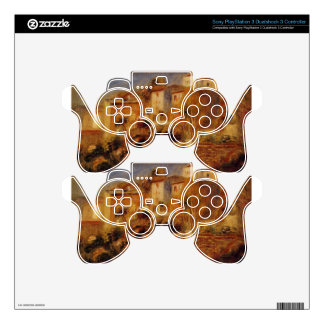 Houses at Cagnes by Pierre-Auguste Renoir PS3 Controller Skins