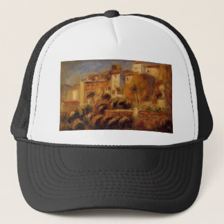 Houses at Cagnes by Pierre-Auguste Renoir Trucker Hat
