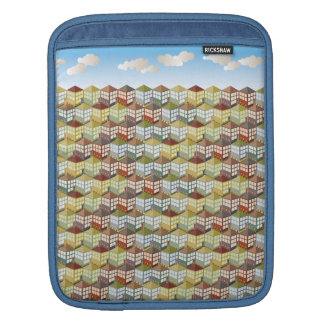 Houses Houses at Day iPad Sleeve