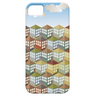 Houses Houses at Day iPhone 5 Case