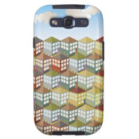 Houses Houses at Day Samsung Galaxy S Case Samsung Galaxy SIII Cases
