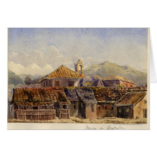 Houses in Acapulco Greeting Card