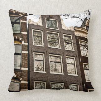 Houses in Amsterdam Pillow