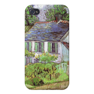 Houses in Auvers by Vincent van Gogh iPhone 4/4S Covers