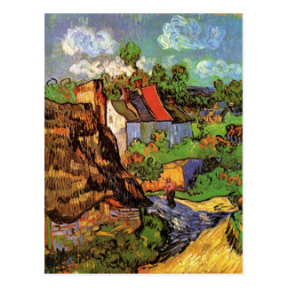 Houses in Auvers Post Card