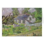 Houses in Auvers - Van Gogh (1890) Greeting Cards