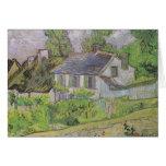 Houses in Auvers - Van Gogh (1890) Greeting Cards
