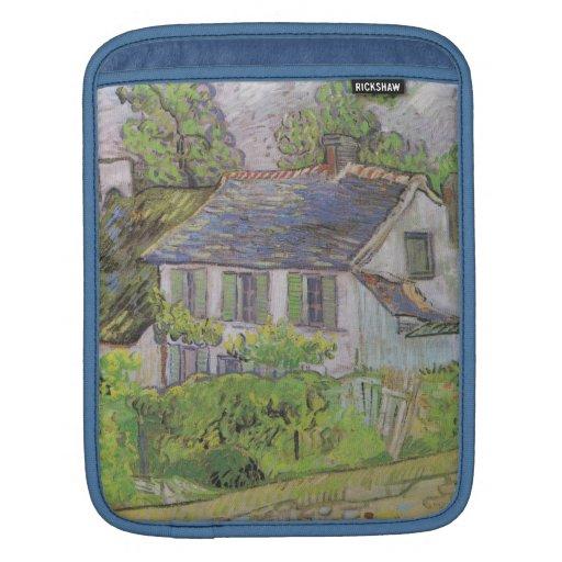 Houses in Auvers - Van Gogh (1890) Sleeves For iPads