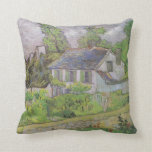 Houses in Auvers - Van Gogh (1890) Pillows