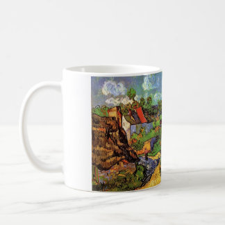 Houses in Auvers, Vincent van Gogh. Village Classic White Coffee Mug