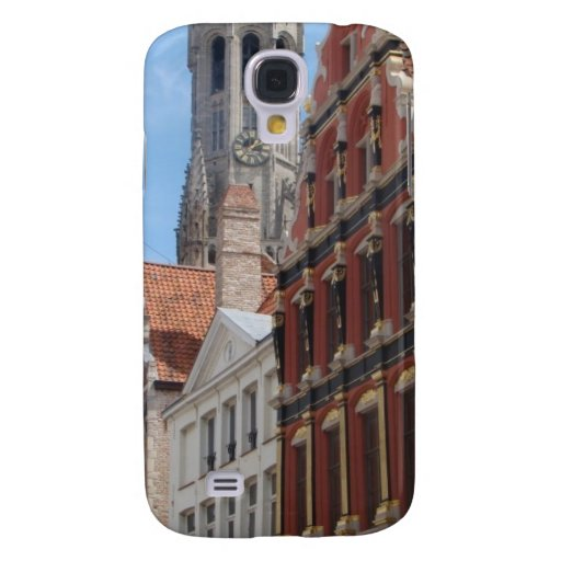 Houses in Brugge HTC Vivid Case