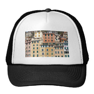 houses in Camogli Mesh Hat