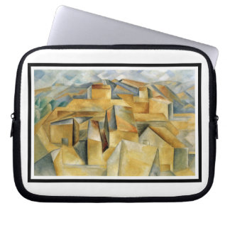 Houses In L Estaque by Cezanne Laptop Case Laptop Sleeves