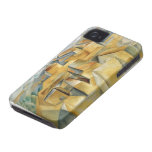 Houses In L'Estaque by Cezanne iPhone 4/S Case Case-Mate iPhone 4 Case