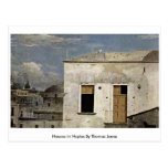 Houses In Naples By Thomas Jones Post Card