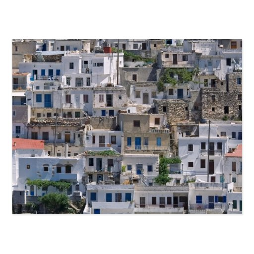 houses in Naxos Post Cards