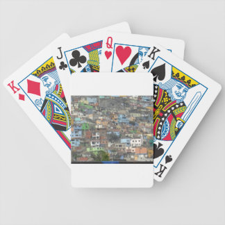 Houses in Peru Bicycle Playing Cards