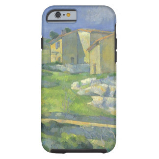 Houses in Provence by Paul Cezanne, Vintage Art Tough iPhone 6 Case