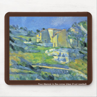 Houses In Provence (Houses At L'Estaque) Mouse Pad