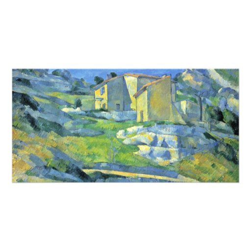 Houses In Provence (Houses At L'Estaque) Photo Card
