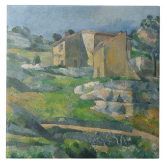 Houses in the Provence: The Riaux Valley Large Square Tile