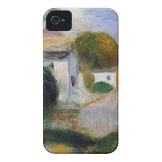 Houses in the Trees by Pierre-Auguste Renoir Case-Mate iPhone 4 Case