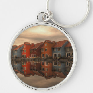 houses keychains