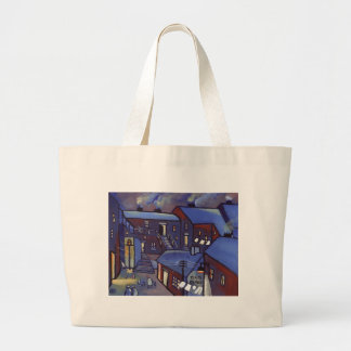 HOUSES LARGE TOTE BAG