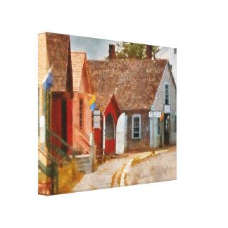 Houses - Maritime Village  Canvas Print