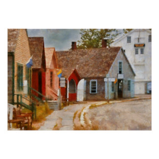 Houses - Maritime Village Posters
