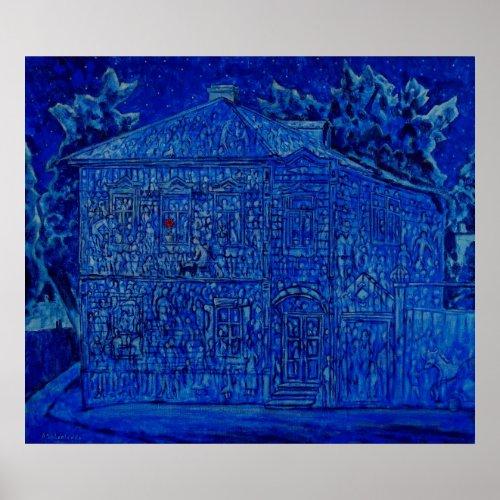 House's Memory Original painting Print print