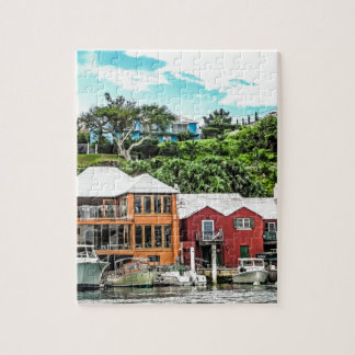 Houses Near Hamilton Jigsaw Puzzle