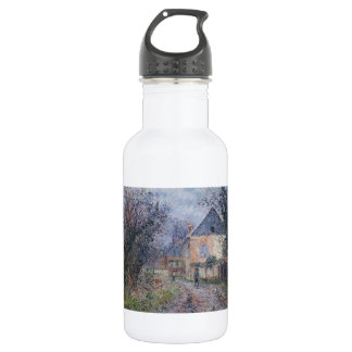 Houses near the Eure by Gustave Loiseau 18oz Water Bottle