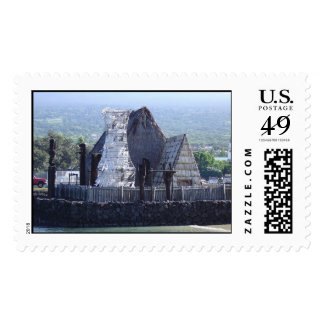 Houses of Old Hawaii Postage
